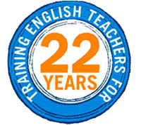 Logo 20 years Spain teaching