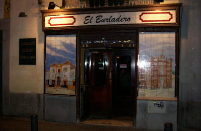 El Burladero or Bullfighter's Hideout.