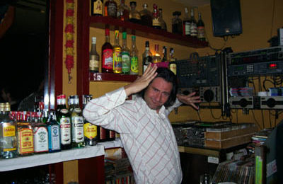 Our Barman & Flamenco DJ, Baudi.