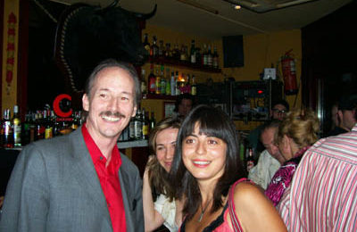 TEFL Director John with Anita, Miss Canterbury 2005.