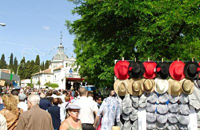 Hats in Front of the Hermitage of San Isidro