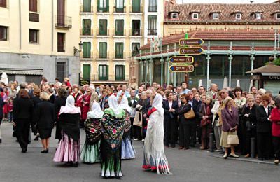 The Afternoon Procession in the Center of Madrid