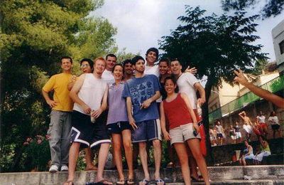 TEFL class of Aug/Sept, 2004 (from left to right). Steve, Brandon, Jaime, Leon, Heather, Ed, James, Miguel, Zinnia, Korin and Shawn.