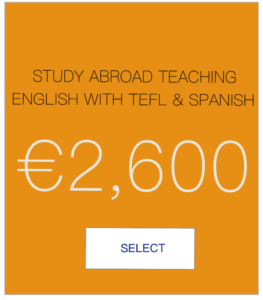 Study abroad teaching English