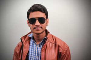 A student from New Delhi, India