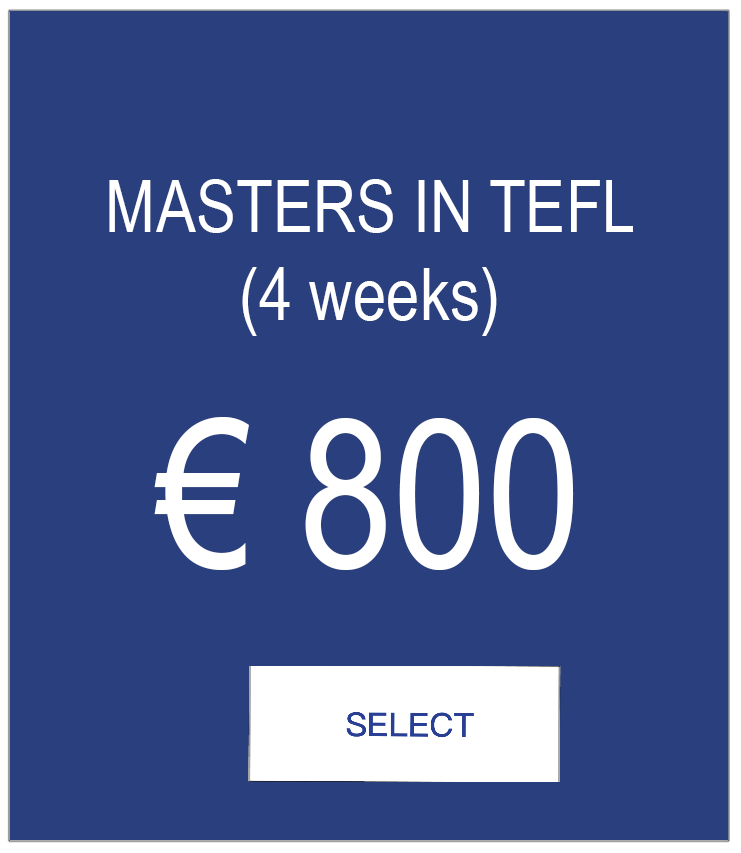 MASTERS IN TEFL